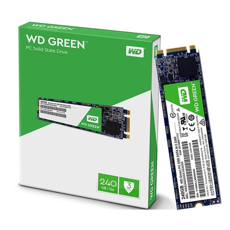 ¥139 WD 西部数据 Green系列 固态硬盘 M.2 240GB(WDS240G1G0B)