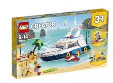 网易考拉黑卡会员: LEGO 乐高 创意百变组 Creator 31083 巡航大历险 287.04元包