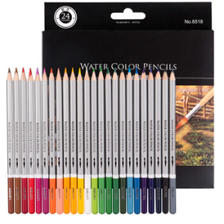 得力 24色水溶性彩色铅笔 附毛笔 *5件 59.7元(合11.94元/件)