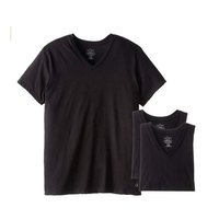 现价$20.71(原价 $39.5) Calvin Klein 男士黑T恤3件套促销