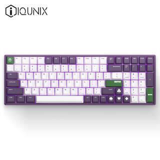 新品发售:iQunix F96-Joker 蓝牙双模RGB背光机械键盘 红轴 1338元