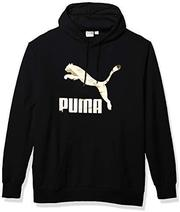 PUMA 男士经典标志卫衣法式厚绒布 prime含税到手约209.04元'