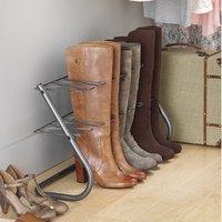 .87 (原价.99) Whitmor 长筒靴架,可容纳4双