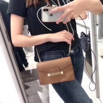 Michael Kors 迈克高仕 Karla 真皮链条单肩包 6.4折 直邮中国 ¥636.02