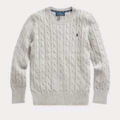 【双11】Ralph Lauren 拉夫劳伦 Cable-Knit 8-20岁针织衫