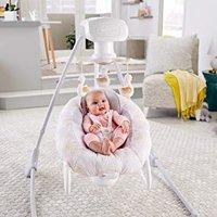 $86.68 解放双手神器 Fisher-Price 二合一豪华婴儿电动摇篮