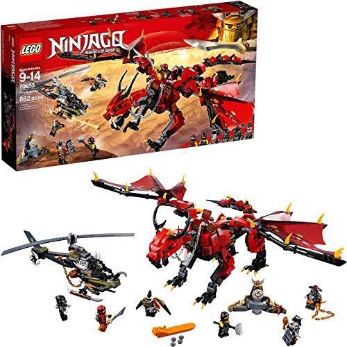 乐高(LEGO)NINJAGO 幻影忍者系列 70653 烈焰谍影神龙 $34.99(约248.15元)