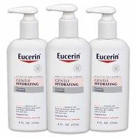 3瓶秒杀价¥113 Eucerin 敏感肌专用温和保湿洁面乳 237ml