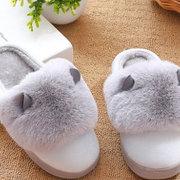 N·R·Z 防滑厚底棉拖鞋 6.99元包邮 ¥7'