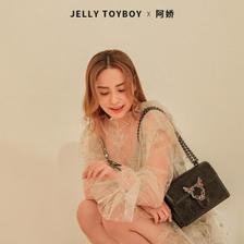 阿娇同款 香港潮牌 Jellytoyboy 蜜蜂扣信封包 169.52元99划算价