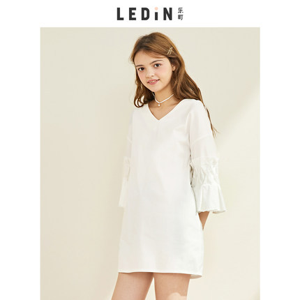 ¥98.91 LED'IN 乐町 C1FA81402 复古连衣裙