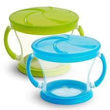 Munchkin 麦肯齐 双把手防泼洒宝宝零食杯,两个装 $4.37(约31.15元)