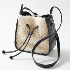 【双11】Natalie Sherpa Bucket Bag 羊羔毛水桶包