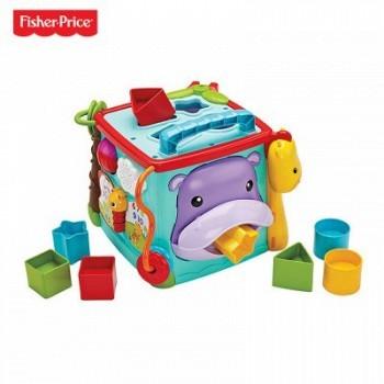 苏宁易购 Fisher-Price 费雪 CMY28 探索学习六面盒(双语) 109元包邮(需拼购)