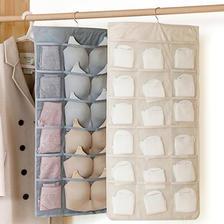 双面可用 内衣袜子双面挂墙式收纳挂袋 券后¥10.9