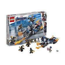 LEGO 乐高 复仇者联盟 76123 美国队长决战Outrider 116元包邮