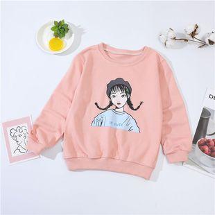 猫人童装-儿童加绒加厚卡通卫衣 ¥20