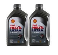 ¥68 Shell 壳牌 Helix Ultra 超凡灰喜力 5W-40 SN 全合成机油 1L *2