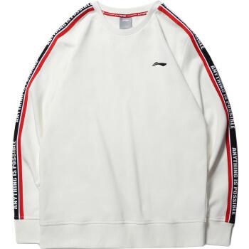 双11预售:LI-NING 李宁 AWDP321 男子休闲圆领衫 34元(前500件) ¥34