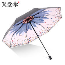 20日21点:天堂 插画手绘风 遮阳晴雨伞 44.5元包邮(前1小时) ¥45