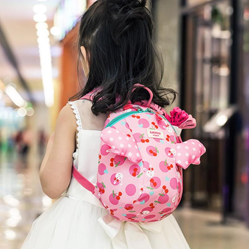 儿童防走失背包可爱幼儿园1-3-5岁女孩宝宝婴儿小书包入园卡通潮 券后36.5元