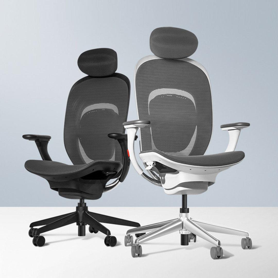 ¥1099 YMI 悦米 人体工学椅 黑色款