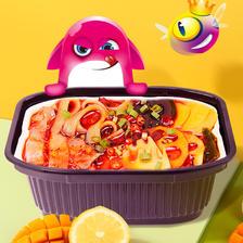 有厨易 自热小火锅 蔬食 350g 4.3元