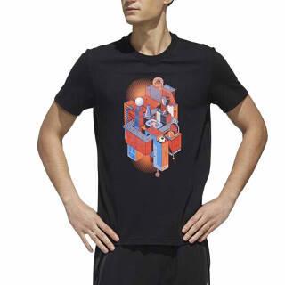 阿迪达斯 ADIDAS 男子 运动型格 AI SS GFX ILLU 运动 T恤 DY8717 L码 159元