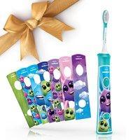 $29.95 (原价$49.99) 需申请邮寄返现 Philips Sonicare 新款飞利浦儿童声波电动牙刷