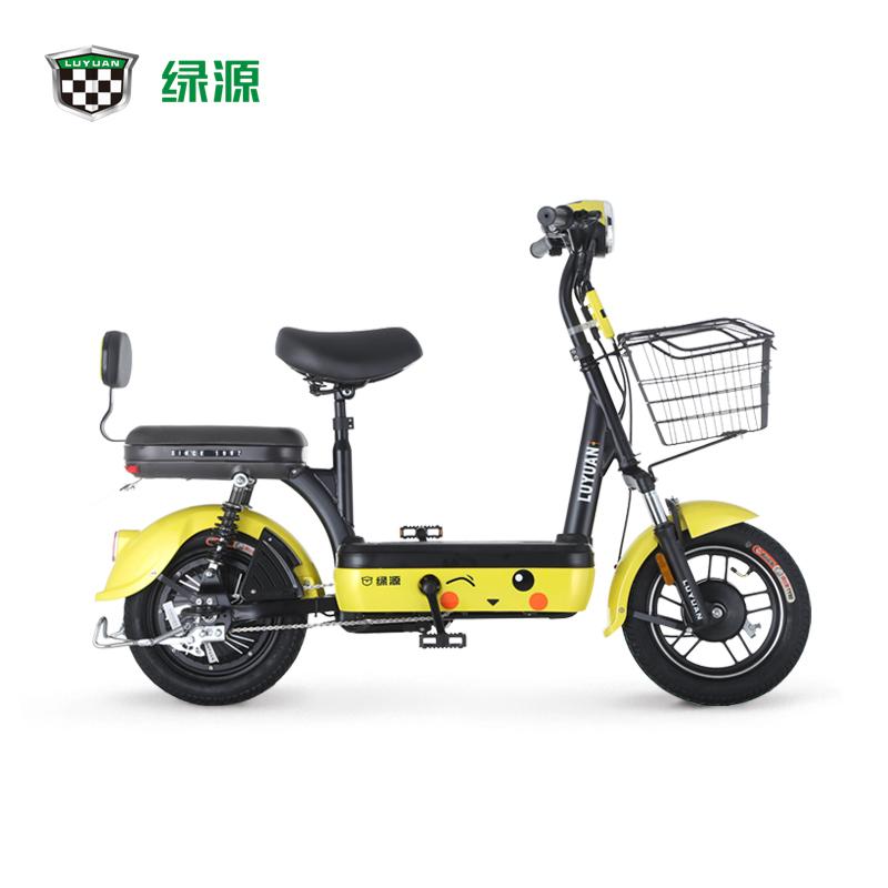 ¥2199 Luyuan 绿源 FBA2 皮卡丘限量款 电动车