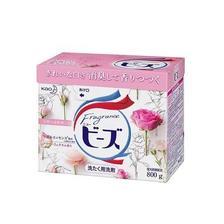 ¥15.4 【日本制】花王天然柔顺剂洗衣粉 玫瑰果香 800克无磷无荧光剂团购