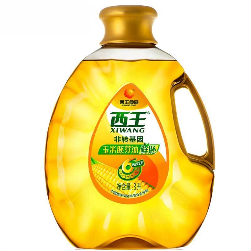 西王(XIWANG) 非转基因压榨 玉米胚芽油 3L *2件 111.84元(需用券,合55.92元/件)