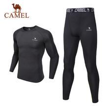 CAMEL 骆驼 男女款健身服套装 *2件 118元包邮(合59元/件)