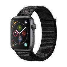 Apple Watch Series 4苹果智能手表(GPS款 44毫米深空灰色铝金属表壳 黑色回环式