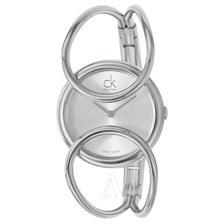 折合360.15元 Calvin Klein 卡尔文·克莱因 Inclined 系列 银色女士时装腕表