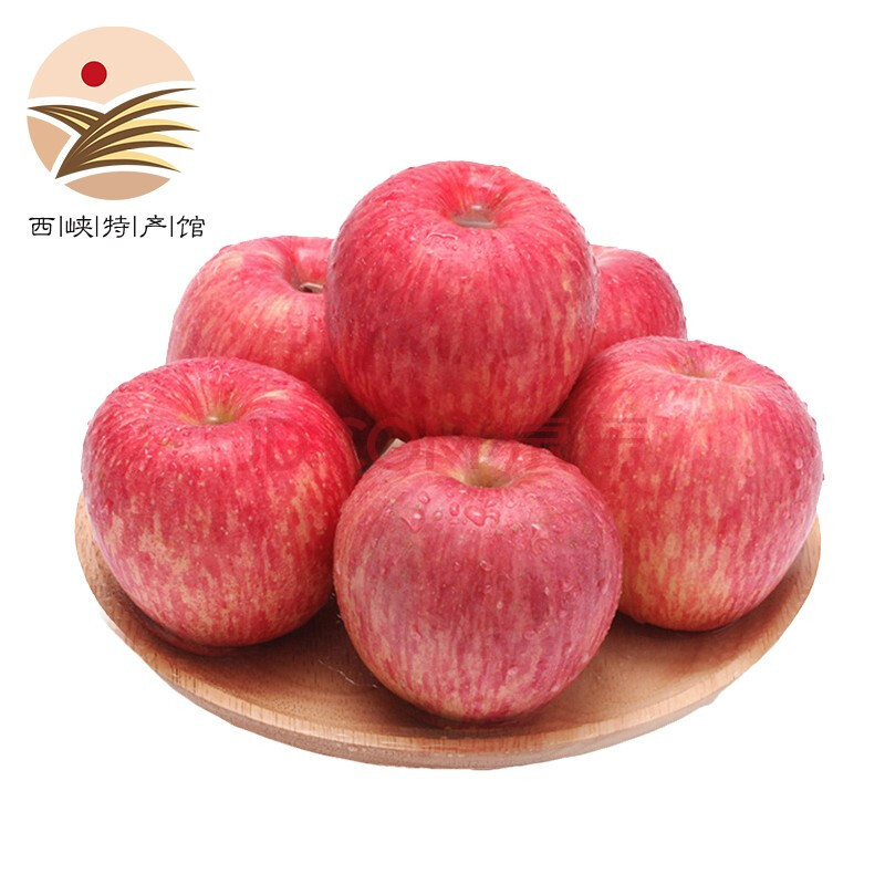静益乐源 红富士苹果 果径70-80mm 5斤 *2件 26.8元包邮(双重优惠)