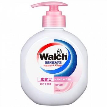 京东商城 walch 威露士 倍护滋润 健康抑菌洗手液 525ml 9.9元(可凑单包邮)