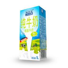 ¥66.2 绿林贝 脱脂牛奶1L*12盒整箱