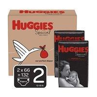 立减$8 Huggies 防过敏婴幼儿尿不湿,码全