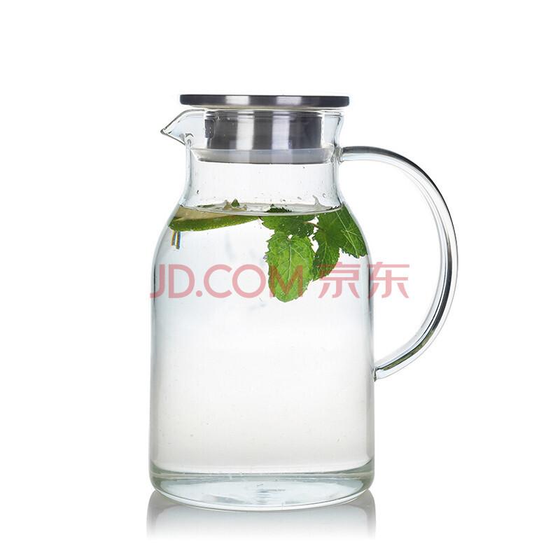 艾芳贝儿 耐热玻璃冷水壶 1500ML *3件 148元包邮(合49.33元/件)