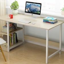 匠林家私 电脑桌简易钢木书桌 79元包邮