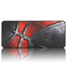 镭拓(Rantopad) H5+电竞游戏桌垫锁边鼠标垫 超大键盘垫 加厚版-球魂 京东自