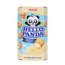 明治(meiji) 熊猫奶油夹心饼干 50g *2件 8.9元(合4.45元/件)