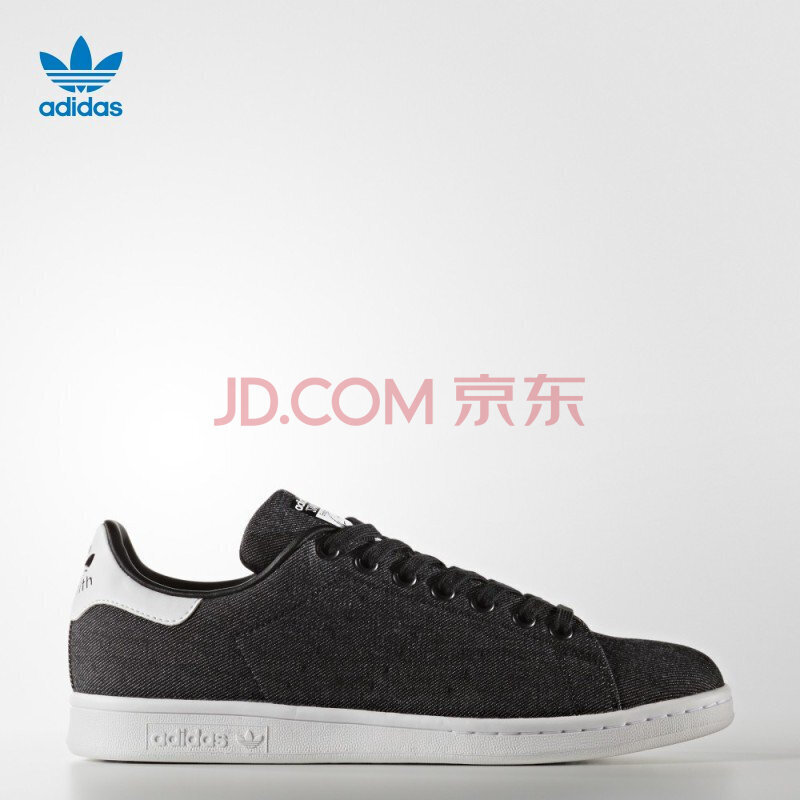 ¥179 adidas 阿迪达斯 STAN SMITH DENIM 中性款运动板鞋