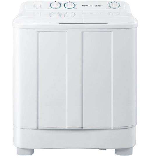 ¥499 14:00开始!Haier 海尔 XPB70-1186BS 7公斤 双桶双缸洗衣机