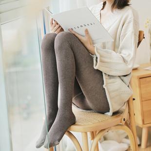 抖音同款 网红秋冬季竖条纹加厚打底裤 券后¥9.8