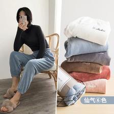 入秋热销 仙女珊瑚绒暖暖裤睡裤 券后¥22.8