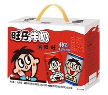¥26.1 旺旺 旺仔牛奶6罐+o泡果奶儿童牛奶早餐奶原味2罐