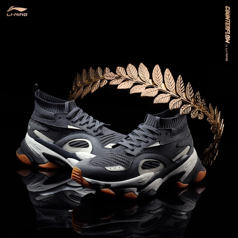 李宁(LI-NING) COUNTERFLOW 角龙 AGCP167 男款运动鞋 498元