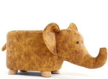 ¥89 Tongbeier 童贝儿 创意动物带收纳小牛沙发凳 小号
